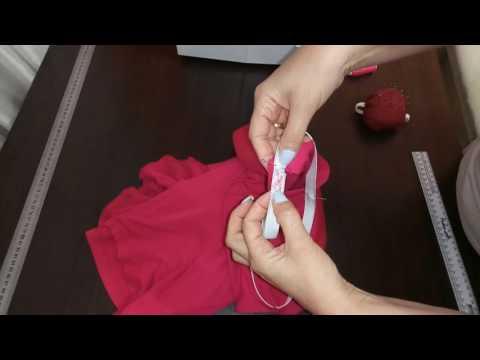 Как сделать из платья юбку с поясом