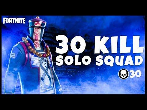 30 Kill Solo Squad | Mongraal