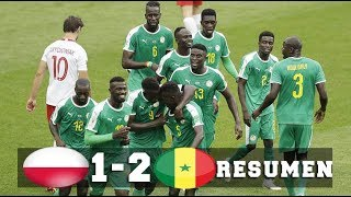 Poland Vs Senegal 1-2 - Resumen y Goles | 19/06/2018 HD