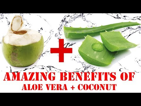 Aloe Vera Coconut Water Recipe | Why Aloe Vera Gel Good For Health