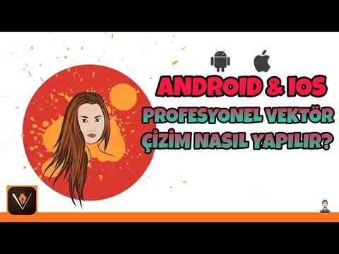 Profesyonel vektör çizim nasıl yapılır? ANDROID & IPHONE