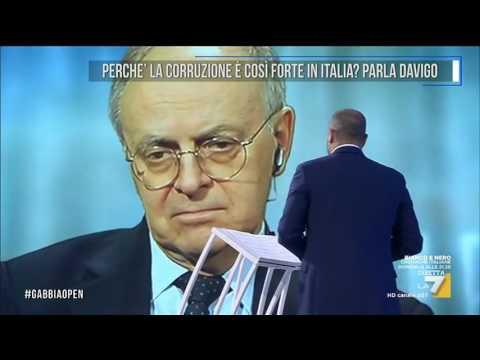 Perchè la corruzione è così forte in Italia? Parla Davigo