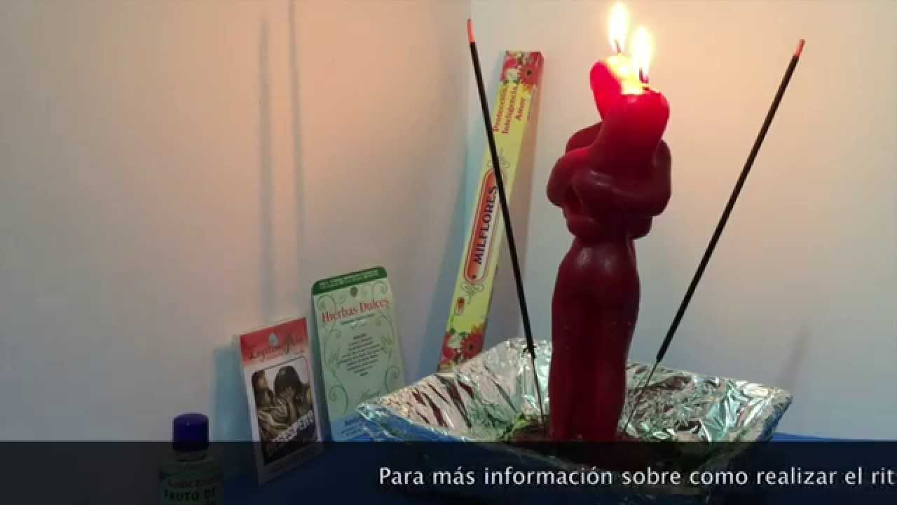 Candela Ritual Hechizo Union