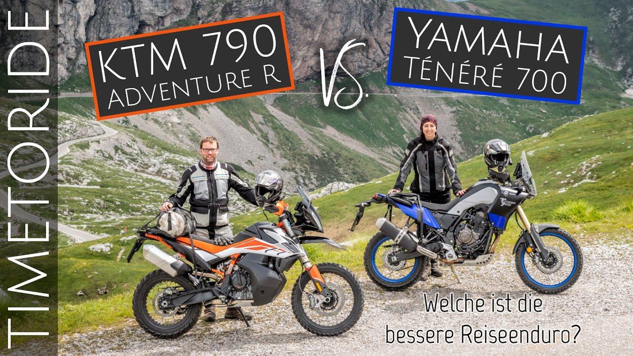 Reiseenduro Vergleichstest: Yamaha Ténéré 700 vs. KTM 790 Adventure R