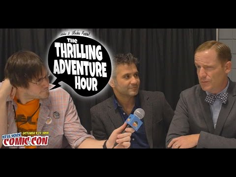 The Thrilling Adventure Hour Interview | NY Comic Con 2014 |