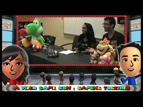 A Video Game Con: Gaming Together Discussion - Behind The Scenes - The Nintendo Power Couple