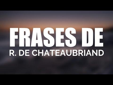 Las 10 mejores frases de RENE DE CHATEAUBRIAND