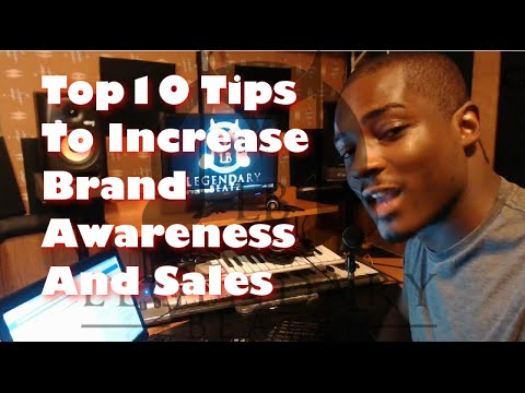 Music Promotion - Top 10 Ways To Increase Brand Awareness and Sales