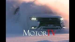 SUV : 2018 MITSUBISHI OUTLANDER PHEV l EXTERIOR l INTERIOR l SNOW DRIVING