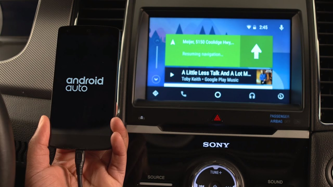 ford sync 3 with android auto youtube