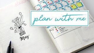 PLAN WITH ME | May Bullet Journal