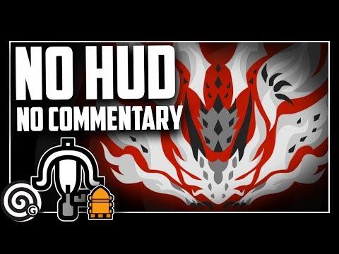 NO HUD Vs AT Xeno'jiiva (HD/no Commentary) | Monster Hunter World