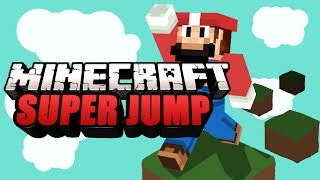 MINECRAFT - Super Jump vs. GermanLetsPlay