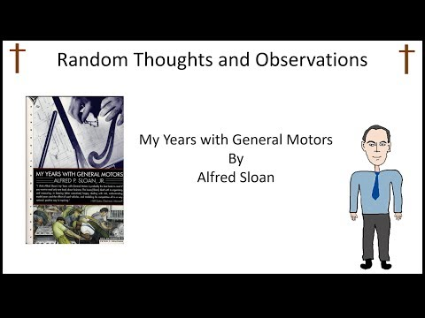My Years with General Motors Alfred P Sloan