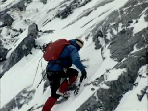 John Cunningham Climbing Ben Nevis 1976