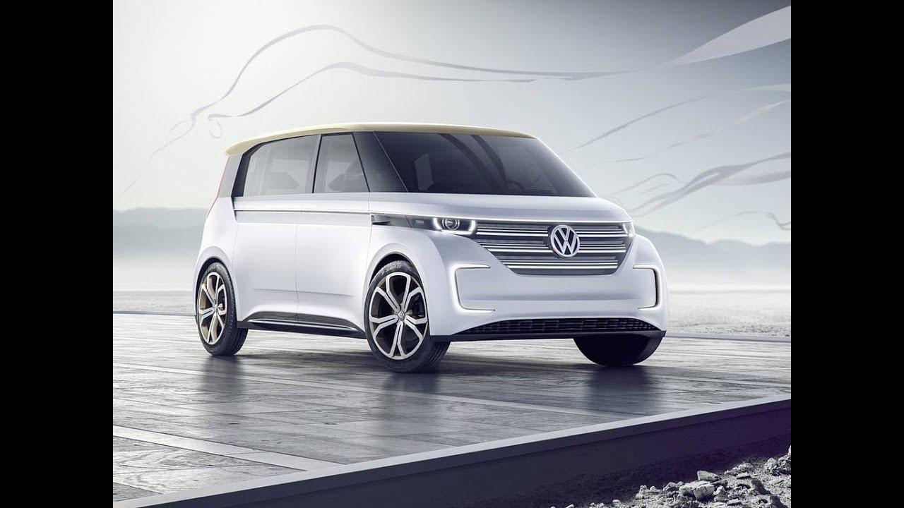 2016 Volkswagen Budd E Concept Vw Bus Multivan