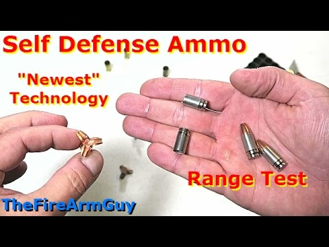 "The ""Newest"" Technology in Self Defense Ammunition - TheFireArmGuy"