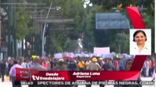 Protestas en Guanajuato por el asesinato de estudiante / Nacional