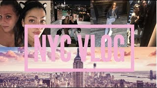 NYC VLOG! A WEEKEND IN NYC WITH MY BESTIE.. EAT, SHOP, WORKOUT!