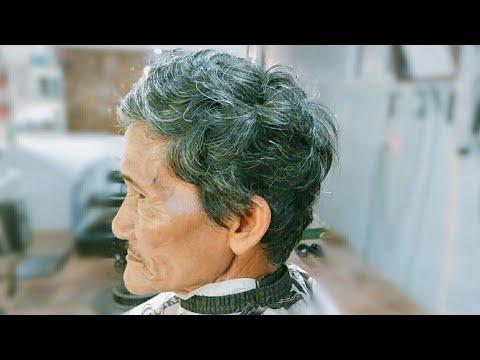 Cách xử lý mái tóc XOĂN cho người lớn tuổi hiệu quả nhất !