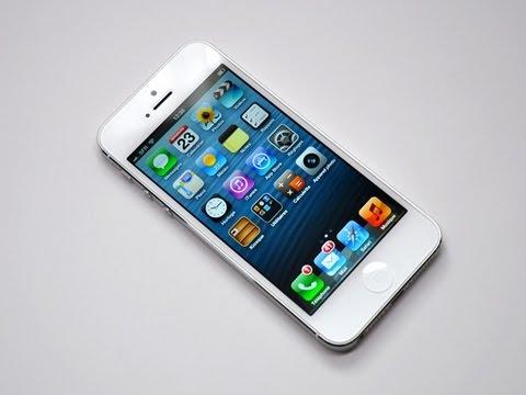Test de l'iPhone 5 d'Apple - par Test-Mobile.fr - YouTube