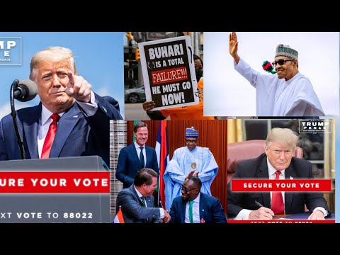 DONALD TRUMP £XPOS£D SOME S£CR£T PRESIDENT BUHARI TOLD HIM ABOUT NIGERIA AND....