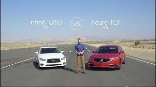 Infiniti Q50 vs Acura TLX - Video Review Comparison