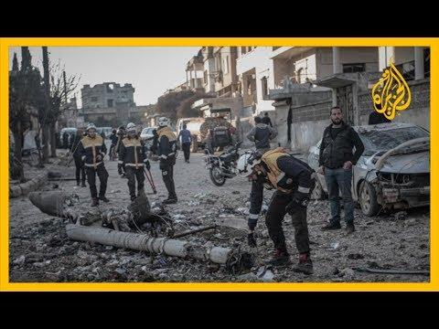 فصائل المعارضة المسلحة تسيطر على مدينة سراقب في ريف إدلب.. التفاصيل مع مراسل الجزيرة  - نشر قبل 3 ساعة