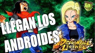 NUEVAS FILTRACIONES! LLEGAN LOS ANDROIDES /// DRAGON BALL LEGENDS EN ESPAÑOL