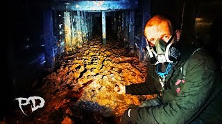 Exploring DEEP Underground In A HAUNTED Abandoned Mine