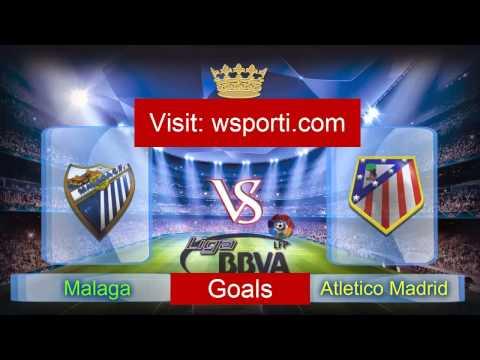 HD Goals Watch Live Streaming  Football Malaga VS Atletico Madrid 11 April 2015