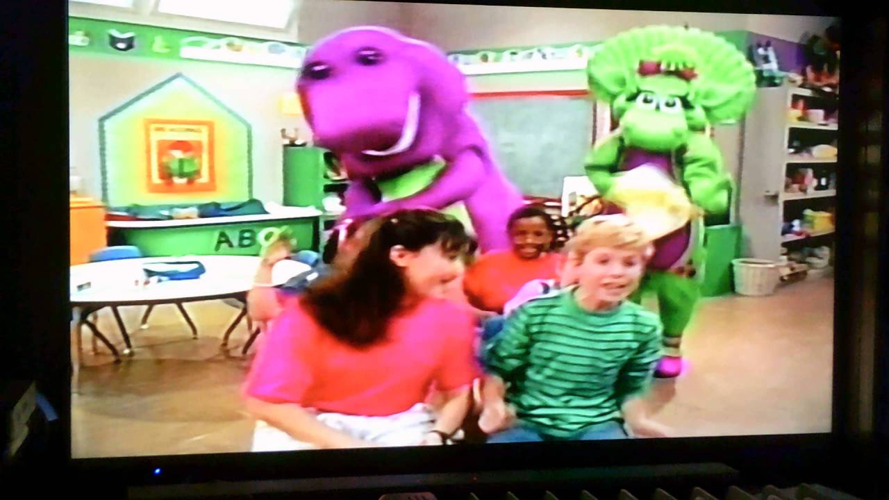 opening to barney u0027s colors and shapes australian vhs 1997 youtube