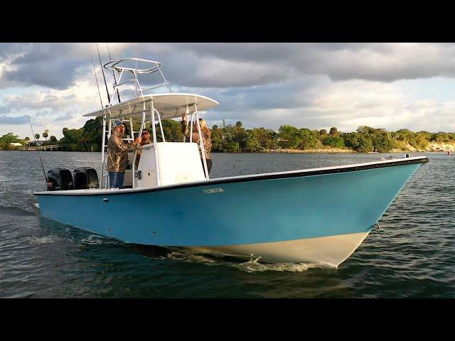 Florida Sportsman Project Dreamboat [2021] Episode 3 - 26 Goldline Restoration & Custom Hydra-Stepp