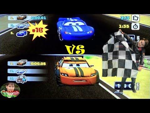 DISNEY PIXAR CARS - MATER NATIONAL - PART#56 - STADIUM RACES - MCQUEEN VS OTTO