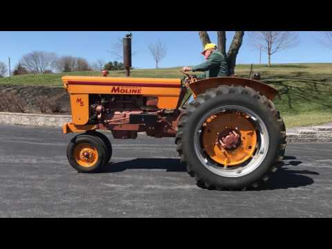 1960 M5 MINNEAPOLIS-MOLINE TRACTOR  - IN AN ONLINE AUCTION NOW!