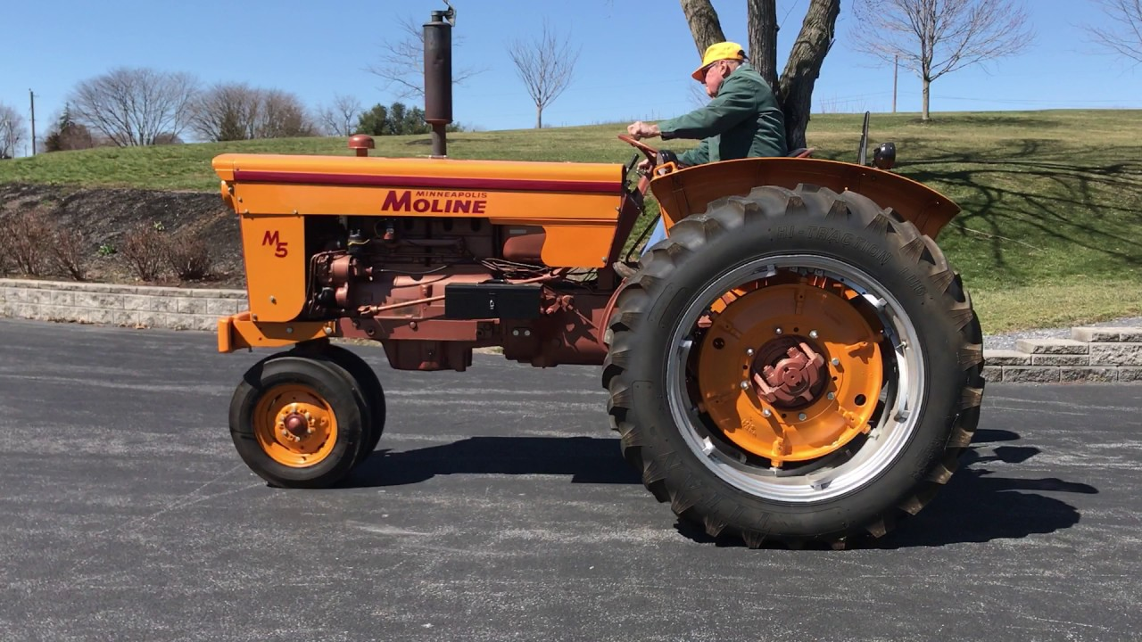1960 M5 MINNEAPOLIS-MOLINE TRACTOR - IN AN ONLINE AUCTION ...