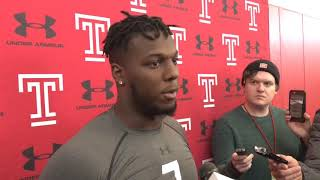 Eagles keep close eye on Temple's Ryquell Armstead