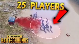 25 Players in the SMALLEST CIRCLE !! Best PUBG Moments and Funny Highlights - Ep. 241