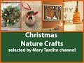 Christmas Nature Crafts Ideas - DIY Natural Christmas Decorations - Christmas Crafts to Sell