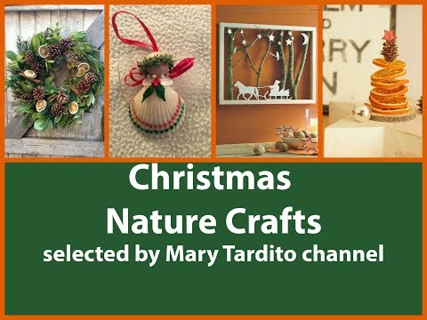 Christmas Nature Crafts Ideas