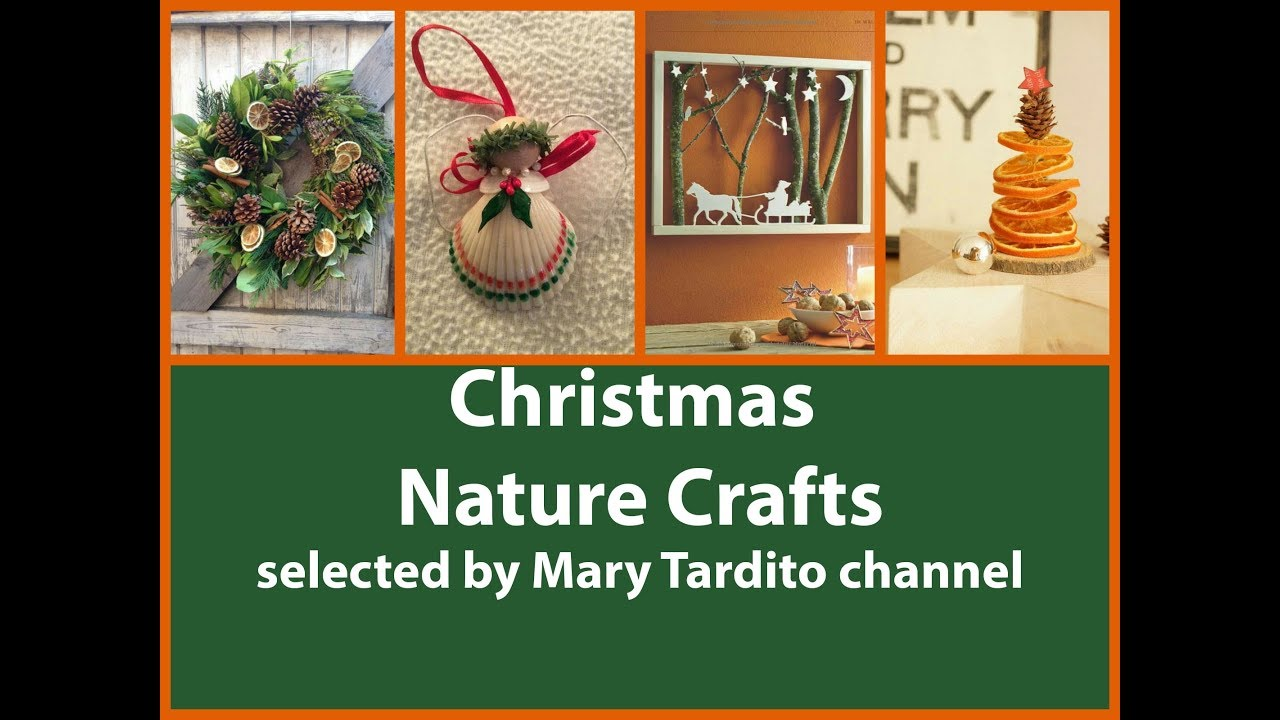 Christmas Nature Crafts Ideas Diy Natural Christmas Decorations Christmas Crafts To Sell