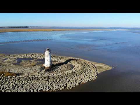 Cockspur Lighthouse Flight - Savannah, GA