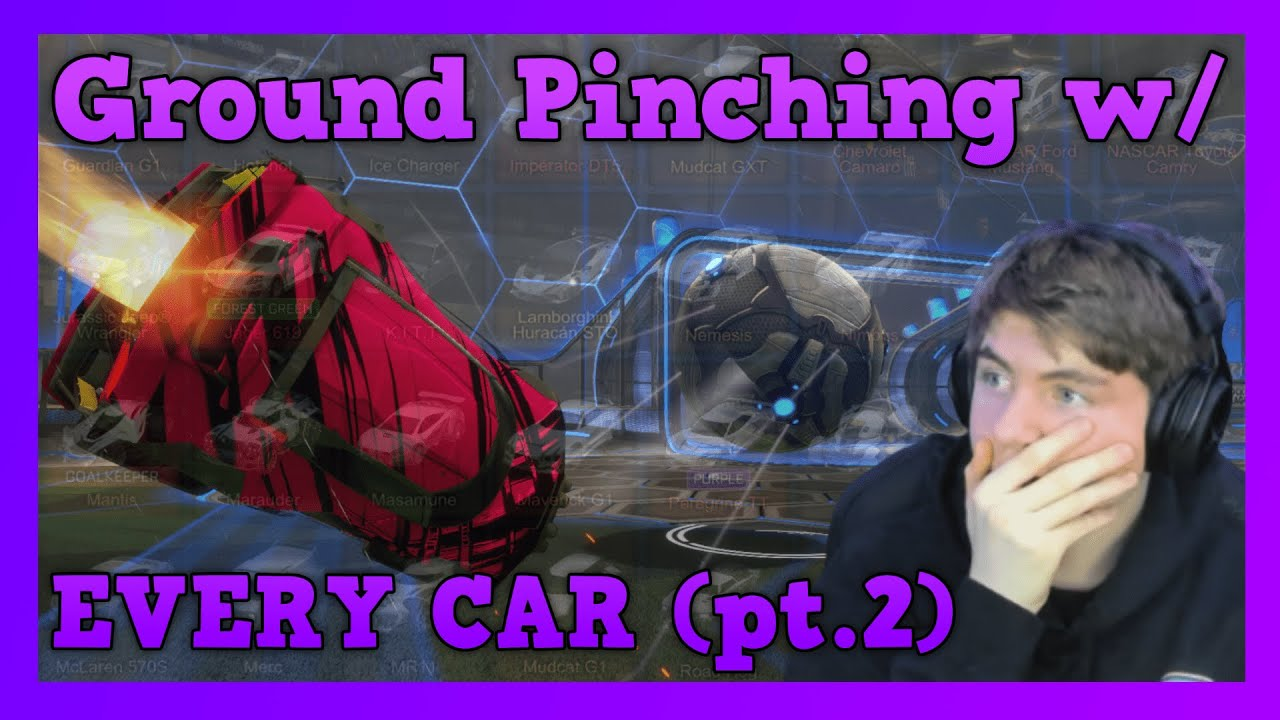 Download Ground Pinching w/ EVERY CAR in Rocket League! | Part 2