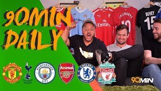 James Rodriguez joins Bayern Munich! | Will Lukaku and Man United win the League!? | 90min Daily