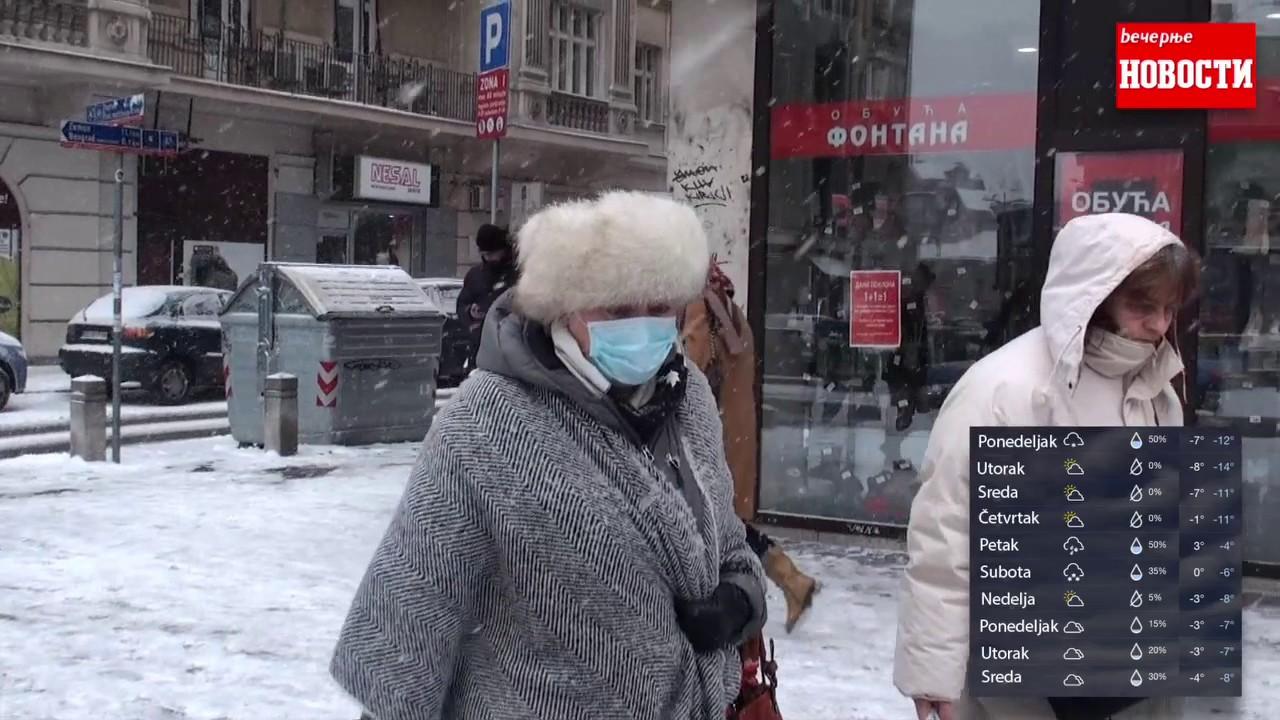 Vremenska Prognoza Za Narednih 9 Dana Uz Zavejan Beograd