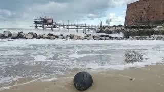 Mare d'inverno a Termoli