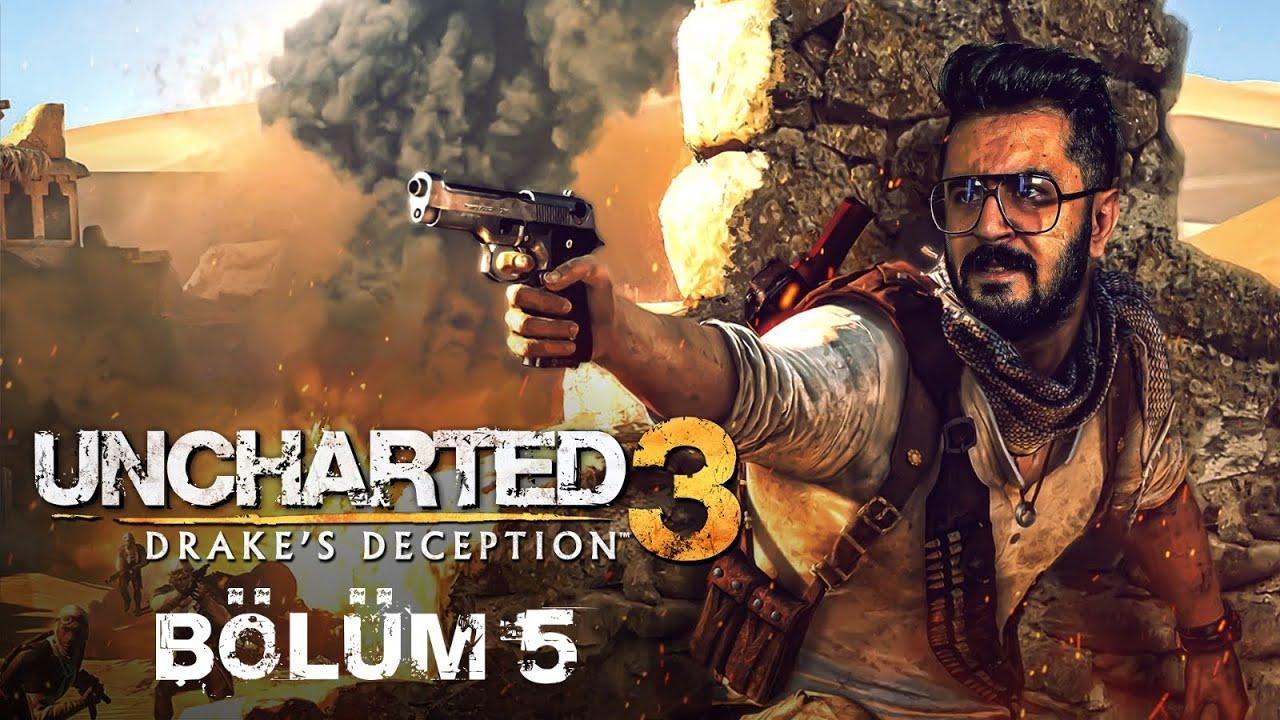 EVE DÖNÜŞ!   Uncharted 3: Drake's Deception Remastered Türkçe Bölüm 5