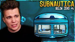 Pierwsza baza i tajemniczy gość - Subnautica: BELOW ZERO #4