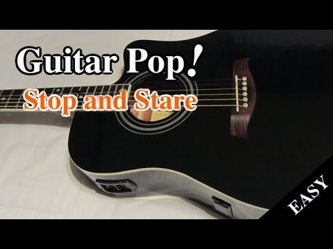 Stop and Stare Guitar Lesson - One Republic - Easy Guitar Tutorial ...
