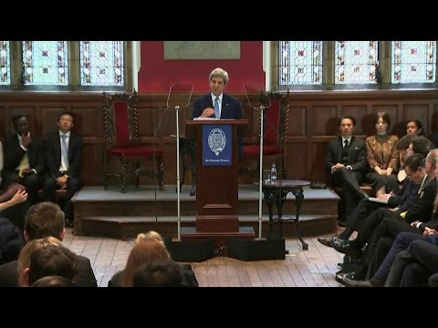 Secretary Kerry Speaks to the Oxford Union About Climate Change